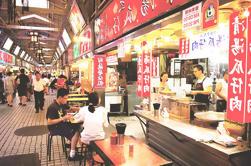 Private Food and Market Tour por la noche en Taipei
