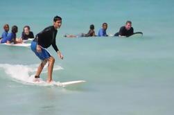 Lección de Surf en Playa Encuentro