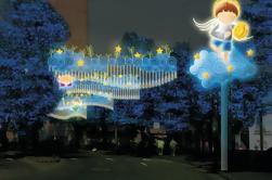 Combo Tour: Ziplines Aventura y Luces de Navidad Tour de Medellín