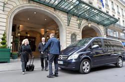 Salida Traslado privado desde Paris y París a Paris Charles de Gaulle (CDG) Aeropuerto