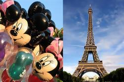 Traslado privado de Disneyland al aeropuerto de París Orly