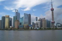 Shanghai Past and Future Day Trip van Beijing door Air