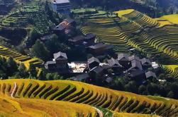 Guilin Bus Tour de las terrazas de arroz Longji en Jinkeng Village