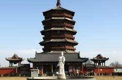 Día de Datong Tour de Yungang Grottoes y Ying Xian Pagoda de madera