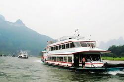 Crucero de un día en el río Li con bambú Rafting en Yangshuo