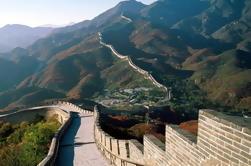 Beijing met de bus het Tiananmenplein Verboden Stad en Mutianyu Great Wall Tour