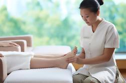 Levante sus pies: un masaje de pies incluyendo la recogida del hotel en Shanghai