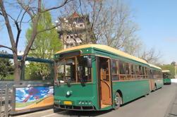 Recorrido turístico de Pekín por el autobús del tranvía del vintage