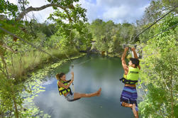Xenotes: Adventure Tour em Cenotes Maias