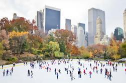 Central Park Patinaje sobre hielo en la pista de Wollman y autobús