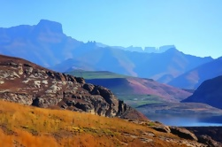 Drakensberg Mountain Range e Nelson Mandela Capture Site Day Tour de Durban