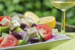 Cata de Santorini y cata de vinos