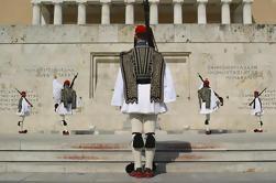 Historique Athènes Tour à pied, y compris le changement de la garde