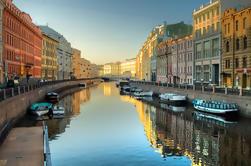 Excursão de costa de St Petersburg: Excursão privada da cidade e excursão da igreja do salvador no sangue derramado