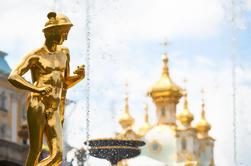 Excursão de costa de St Petersburg: Pushkin, Peterhof