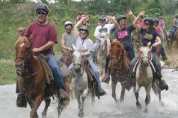 Excursión a caballo y paseo en Zipline en Punta Cana River
