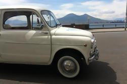 Tour privado: Tour de degustación de comida en Nápoles por Vintage Fiat 500 o Fiat 600