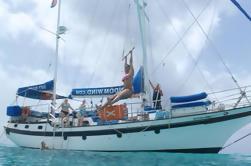 Excursión a la Bahía de San Martín: Vela con Snorkeling y Paddleboarding