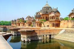 Tour de día privado de Mathura y Vrindavan de Delhi incluyendo almuerzo familiar y ceremonia de Aarti