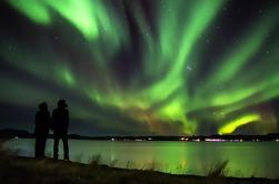 Lago Myvatn Tour con Naturaleza Baños y Luces del Norte de Akureyri Incluyendo Cena