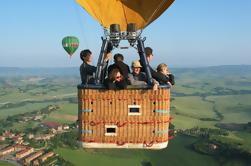 Paseo en globo aerostático desde Roma