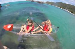 Viaje de día de la isla de Moreton de Brisbane o de la costa de oro incluyendo Kayaking y Sandboarding