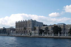 Dolmabahce, palais, Bosphore, croisière, Küçüksu, palais