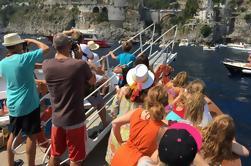 Crucero privado de la costa de Amalfi desde Sorrento o Capri