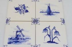 Visita y taller de la fábrica de cerámica privada de Delft