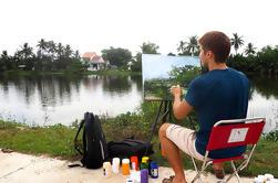 Excursión en bicicleta y pintura de medio día por la ciudad de Hoi An