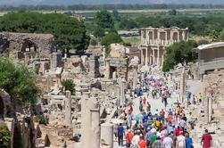 Excursión en grupo pequeño y media jornada de Éfeso antiguo