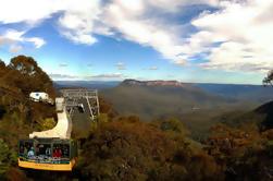 Blue Mountains Day Tour incluyendo cruceros por el río y parque de vida silvestre con la actualización panorámica del mundo