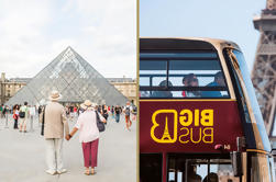 Saltar la línea: Louvre y Big Bus Hop-On Hop-Off