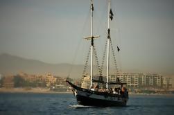 Buque de Snorkel o Crucero de Cena de Los Barcos Piratas de Los Cabos