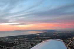 Los Angeles Air Tour sur Santa Monica, centre-ville de Los Angeles et Hollywood