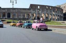 Rome Vintage Fiat 500 Self-Drive Tour by Convoy