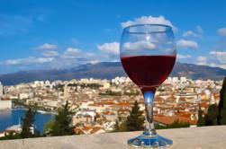 Dalmacia de degustación de vino y comida en Split