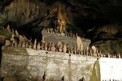 Cuevas de Pak Ou y Excursión de día de otoño de Kuang Si