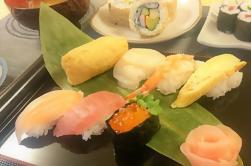 Hausgemachte Sushi-Klasse in Tokio