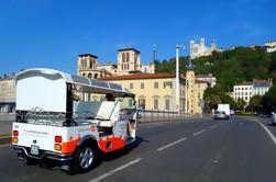 Tour guiado de la ciudad de Lyon por Electric Tuk-Tuk