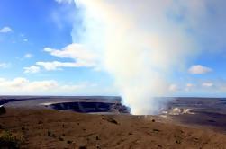 Excursão à costa de Hilo: Cachoeira ativa do vulcão Praia preta da areia