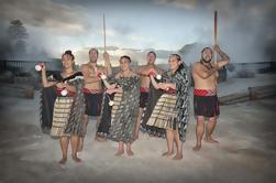 Whakarewarewa, el pueblo maorí vivo Tour guiado con comida opcional de Hangi