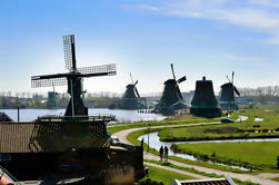 Excursión de medio día a Zaanse Schans: molinos de viento, museo del tapón y granja del queso