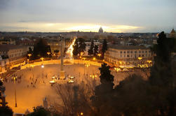 Cuadrados de Roma al atardecer en grupo pequeño Tour