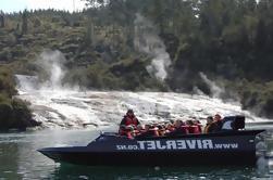 Jet Boat Ride en el río Waikato incluyendo Tutukau Gorge y Orakei Korako