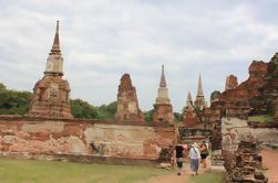 Ayutthaya antigo e escondido pela bicicleta