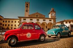 Auto-Drive Vintage Fiat 500 Tour de Florença: Villa Toscana e almoço piquenique