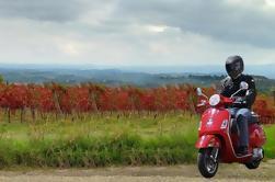 Auto-Drive Vintage Vespa Tour con picnic de la Toscana Picnic