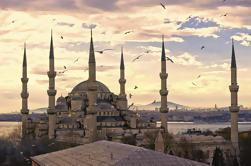 Excursión a grupos pequeños en Estambul: Skip-the-Line Cisterna Hagia Sophia y Basílica, Crucero por el Bósforo, Mezquita Azul y Gran Bazar