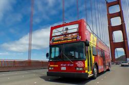 Ciudad y el mar de aventura: Hop-On Hop Off Paquete incluyendo San Francisco Bay Cruise